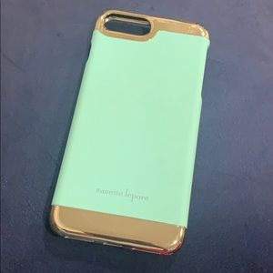 iPhone 7 Plus Nanette Lepore Mint Case
